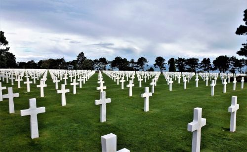 france normandy cemetery