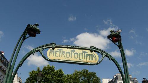 france paris metro