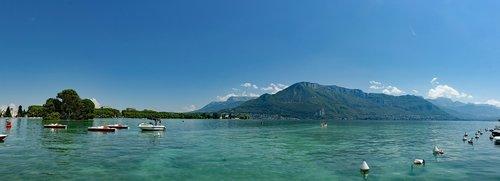 france  rhône-alpes region  lac d' annecy