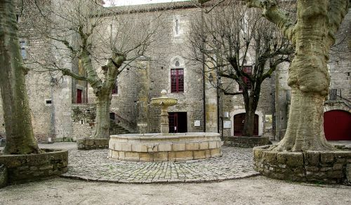 france holy eulalie of cernon medieval village