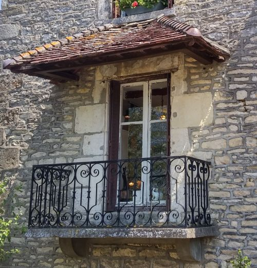 france balcony old