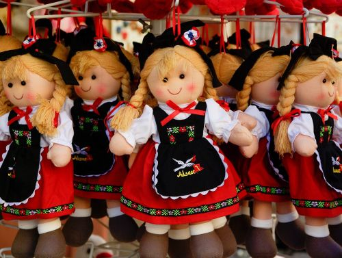 dolls traditional costume france