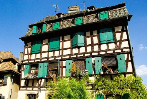 france strasbourg medieval town
