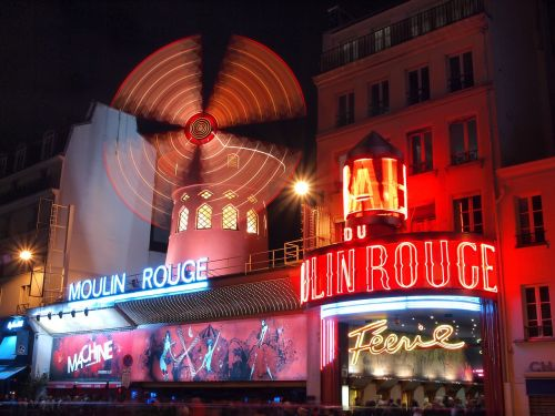france paris moulin rouge