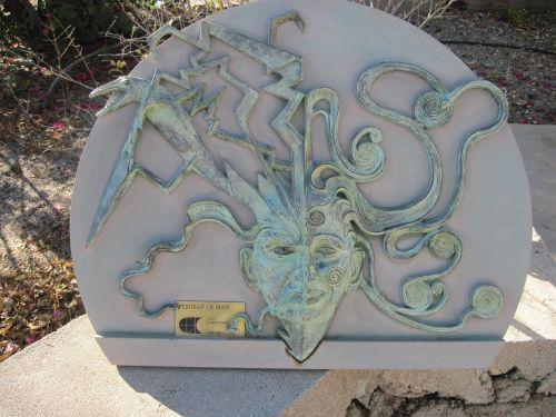 frank lloyd wright taliesin west sculpture