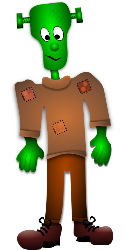 frankenstein green halloween