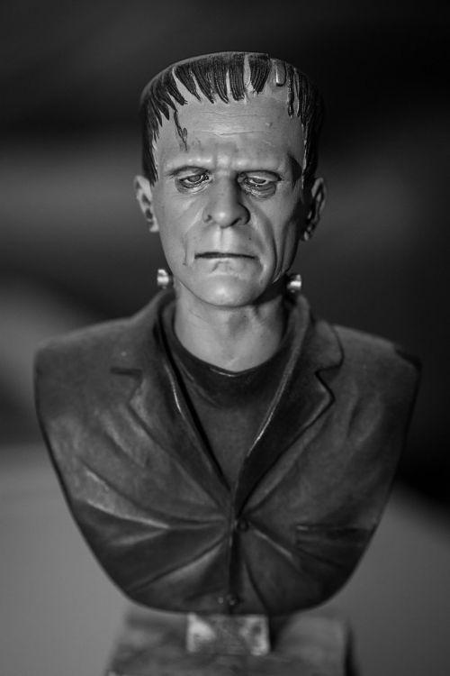 frankenstein monster statue