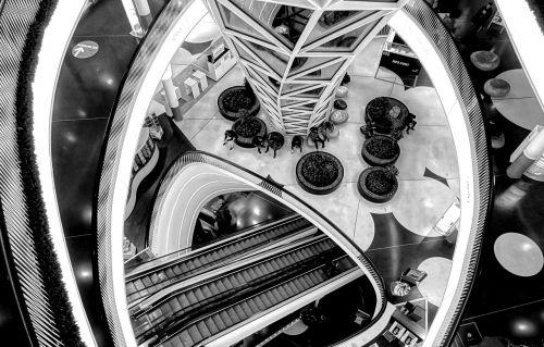 frankfurt myzeil stairs