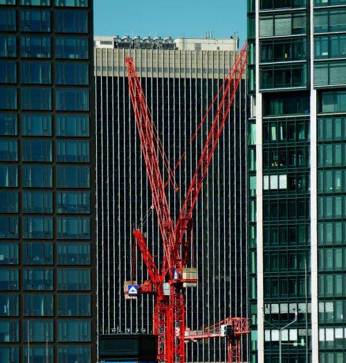 frankfurt baukran crane