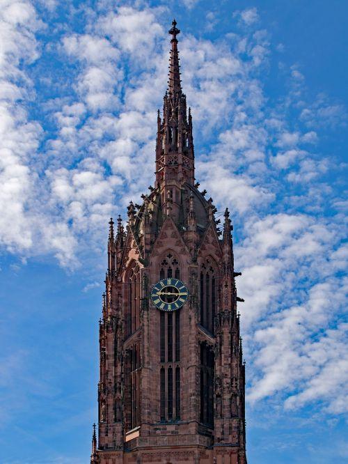 frankfurt frankfurt cathedral hesse