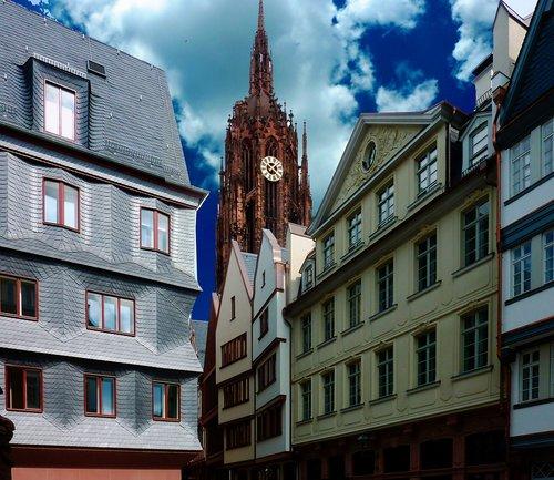 frankfurt  new old town frankfurt  historic center