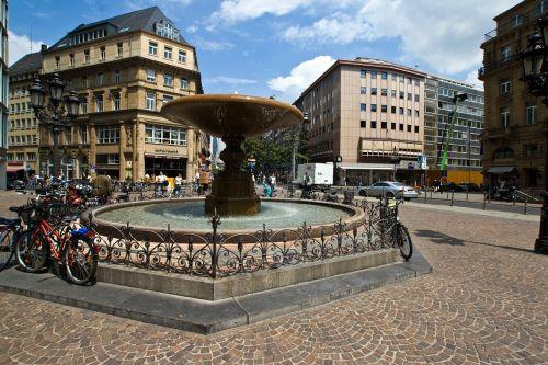frankfurt town center frankfurt am main germany