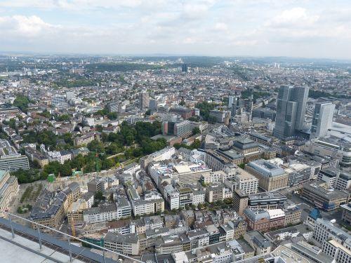 frankfurt hesse skyscraper
