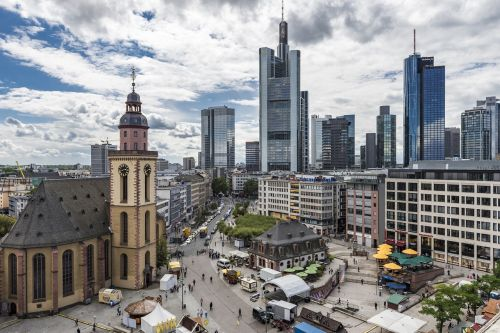 frankfurt am main germany hauptwache city