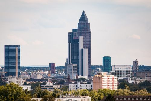 frankfurt am main germany city skyscrapers
