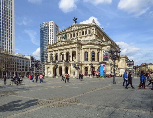 frankfurt main old opera opera house