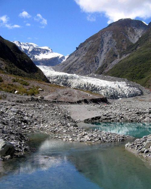 franz josef glacier new zealand scenic