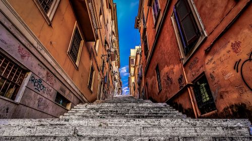 frascati rome stairs