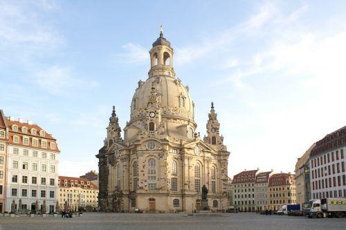 frauenkirche dresden saxony