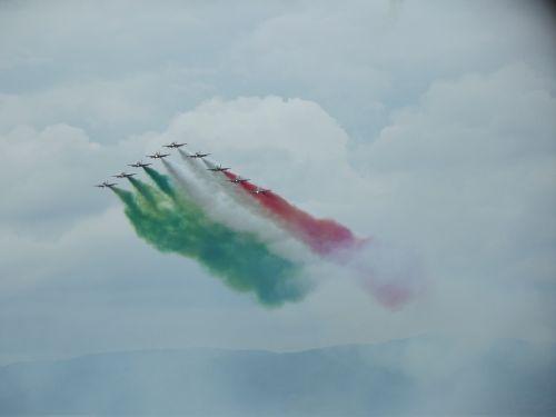 frecce tricolori aircraft aerobatic team