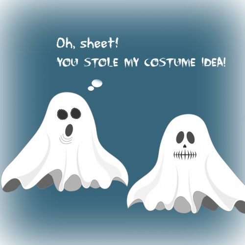 Free Halloween Ecard With Ghosts