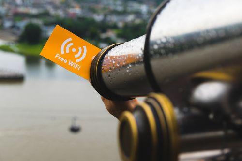 free wifi sign wlan