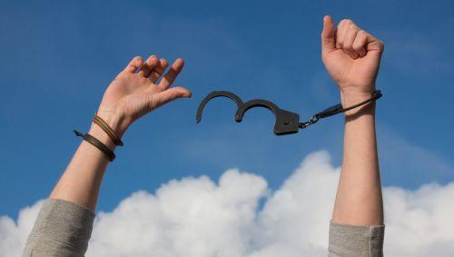 freedom sky hands