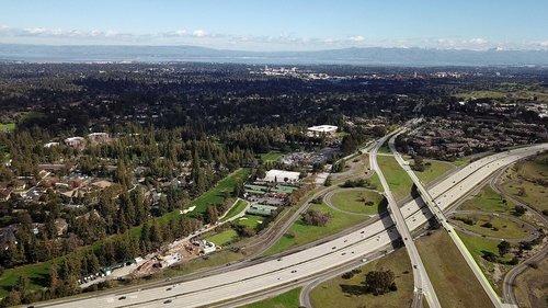 freeway  palo alto  menlo park