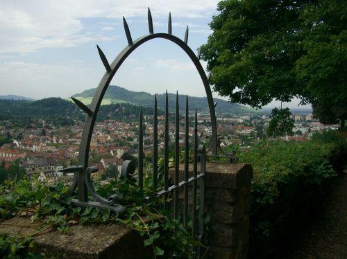 freiburg schlossberg view