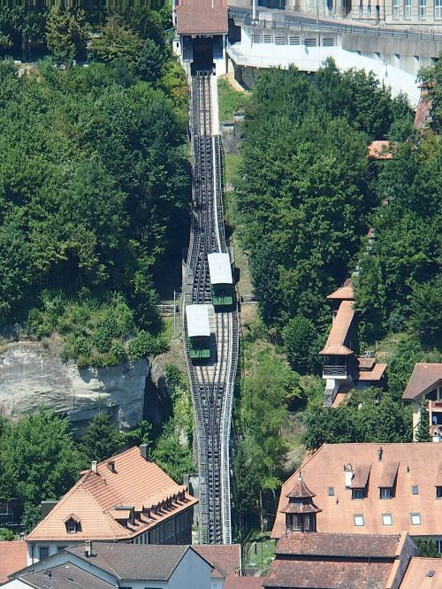 freiburg passenger transport rack railway