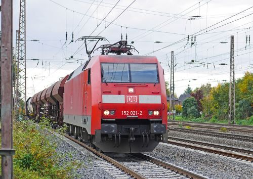 freight train deutsche bahn exit