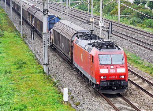 freight train oberrhein track appenweier