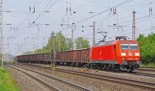 freight train block train db