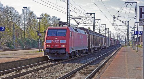 freight train deutsche bahn db