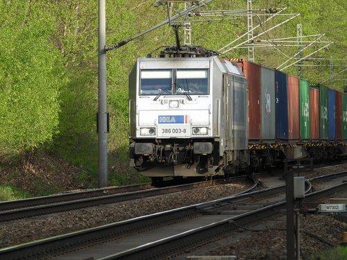 freight train  locomotive  electric locomotive