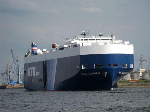 freighter ship port