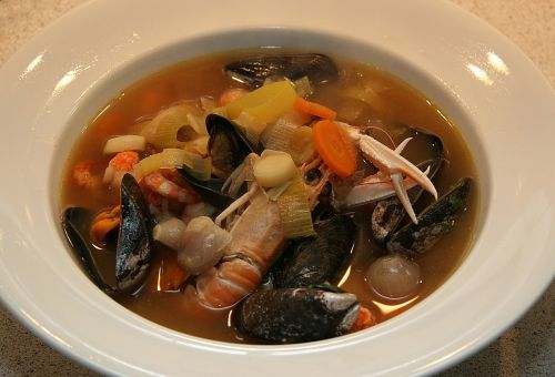french bouillabaisse fish soup french fish soup