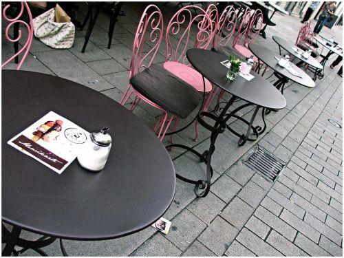 french cafe restaurant street cafe