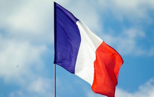 french flag nation france