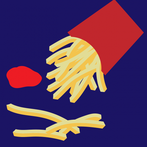 french fries potato snacks