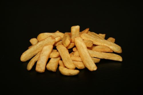 french fries potatoes fried