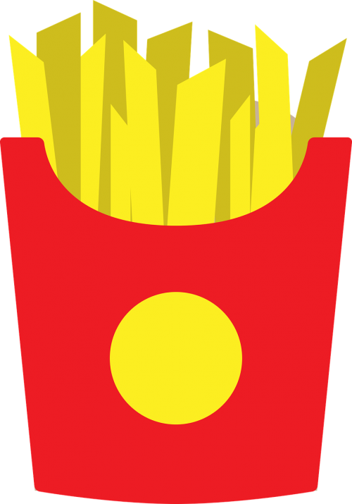 french fries french food