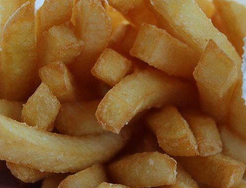 french fries frits french