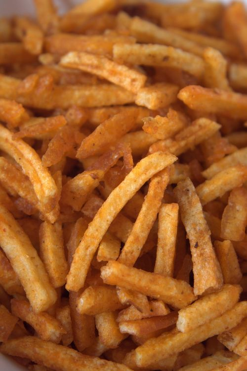 french fries chips snack
