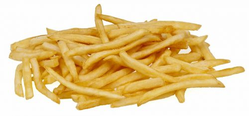 french fries potatoes fast food