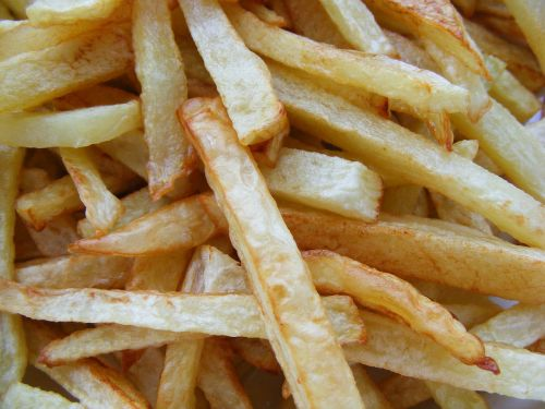 french fries potatoes food