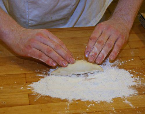 french gross bun dough formes