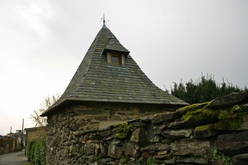french pigeonnier folly slated roof