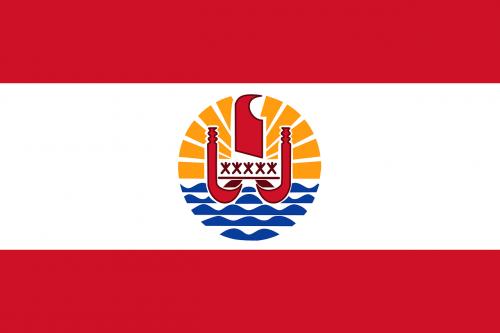 french polynesia flag national flag