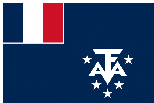 french southern antarctic lands flag